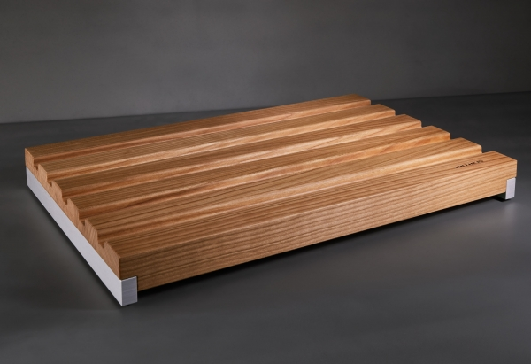 Mitheis Quadrem Mittleres Brotschneidbrett Kirsche-Aluminium 1553