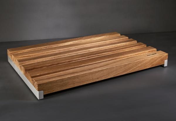 Mitheis Quadrem Mittleres Brotschneidbrett Eiche-Aluminium 39x26 1552