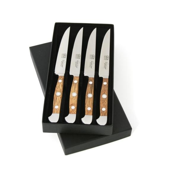 Das Güde Alpha Fasseiche Steakmesser Set 4-E313/12
